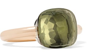 Pomellato Nudo Classic Gold Prasiolite Ring