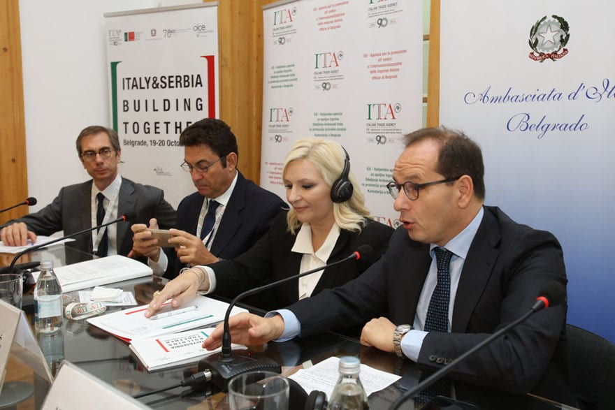 Italy & Serbia: Building Together