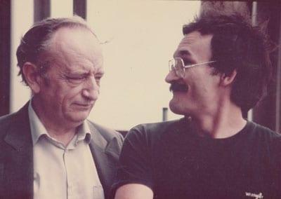 DUŠKO RADOVIĆ, famous Serbian writer, poet, journalist… and DUŠAN PETRIČIĆ