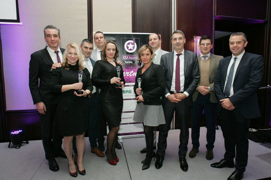 First Commercial Real Estate CIJ Awards Serbia