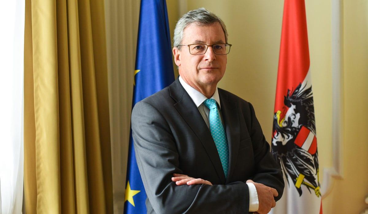Johannes Eigner, Ambassador Of Austria EU