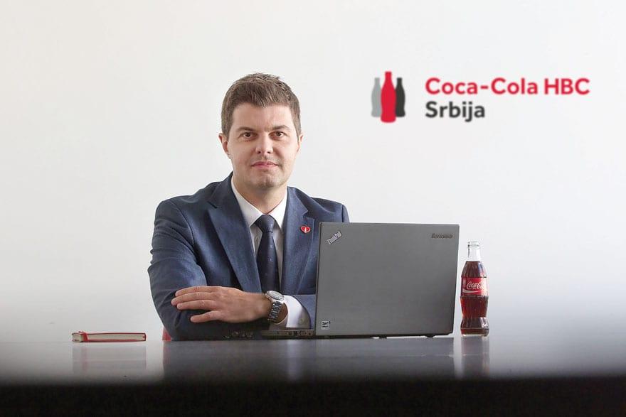 Dragan Lupšić Coca-Cola HBC