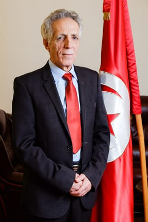 H.E. MOHAMED BOUGAMRA AMBASSADOR OF TUNISIA TO SERBIA