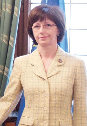 H.E. IVANA HLAVSOVÁ AMBASSADOR OF THE CZECH REPUBLIC TO SERBIA