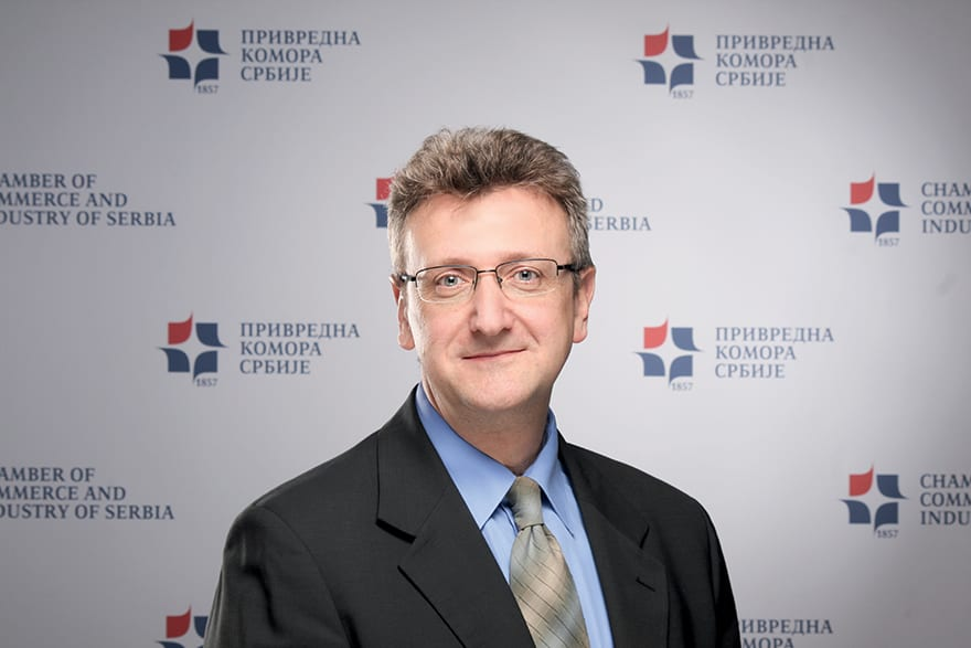 Dušan Stokić, Head Of The Centre For Environmental Protection, Chamber Of Commerce And Industry Of Serbia