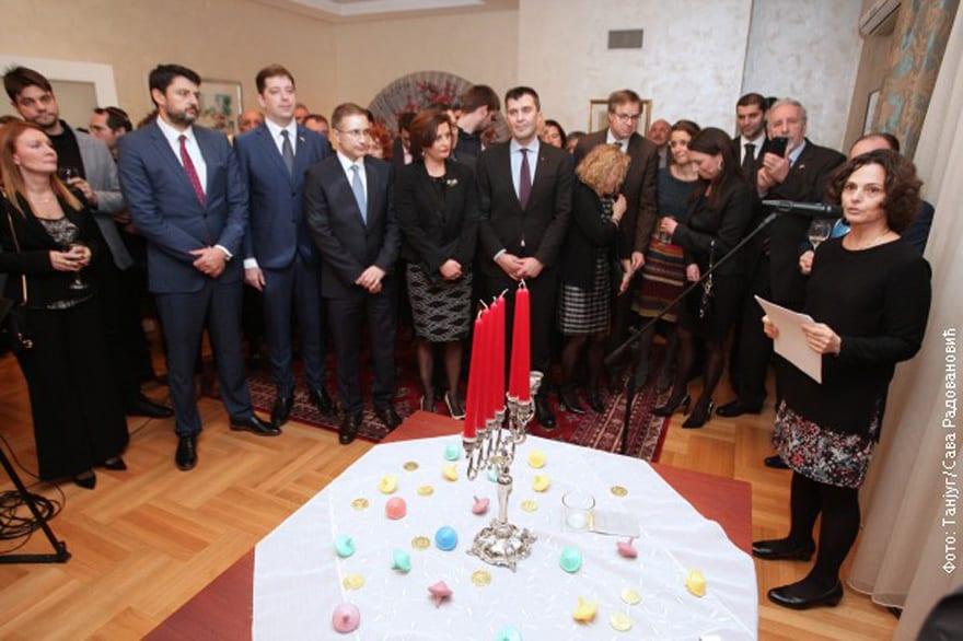 Ambassador of Israel Commemorates Hanukkah Alona Fisher Kamm