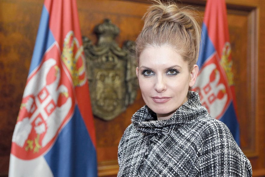 Jovanka Atanacković, Assistant Minister For Construction, Transport And Infrastructure