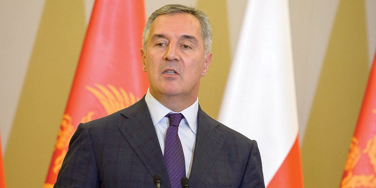 Milo Djukanović, Prime Minister Of Montenegro