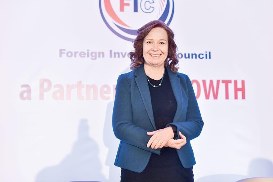 Ingeborg Øfsthus, CEO of Telenor Serbia