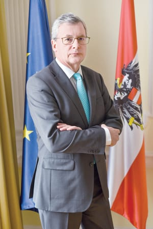 H.E. Johannes Eigner Ambassador Of Austria To Serbia
