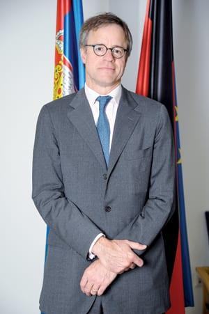 H. E. AXEL DITTMANN GERMAN AMBASSADOR TO SERBIA