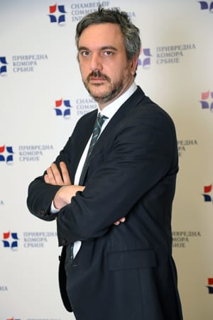 MARKO ČADEŽ PRESIDENT, CHAMBER OF COMMERCE & INDUSTRY OF SERBIA (CCIS/PKS)