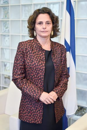 H.E. ALONA FISHER-KAMM AMBASSADOR OF ISRAEL TO SERBIA