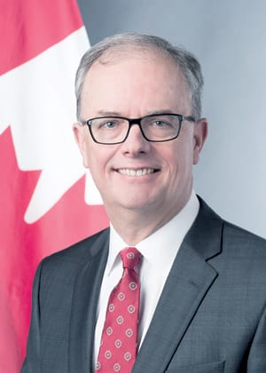 H.E. PHILIP PINNINGTON AMBASSADOR OF CANADA TO SERBIA