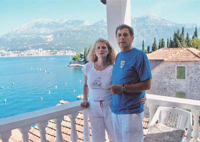 ZDRAVKO ŠOTRA WITH WIFE NEDA TODOROVIĆ