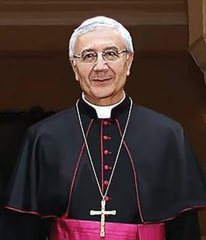 H.E. MSGR. LUCIANO SURIANI APOSTOLIC NUNCIO IN SERBIA, HOLY SEE (VATICAN)