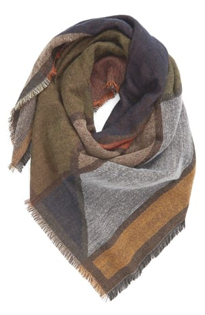 Woven Square Scarf