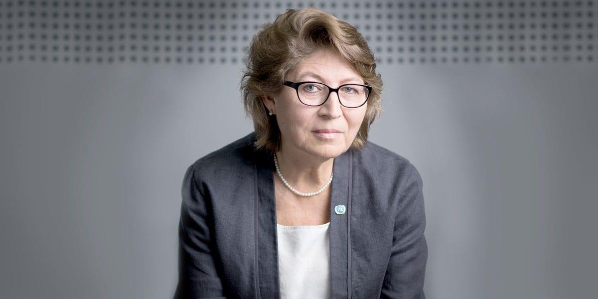 Irena Vojáčková-Sollorano, UN Resident Coordinator And UNDP Resident Representative In Serbia