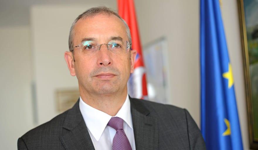 Ambassador Michael Davenport, Head Of The European Union Delegation To Serbia