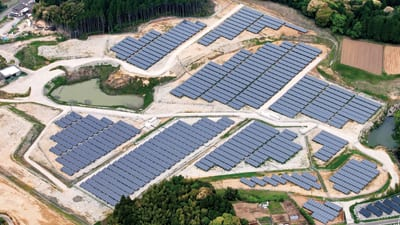 JAPAN IS BUILDING SOLAR ENERGY PLANTS ON ABANDONED GOLF COURSES