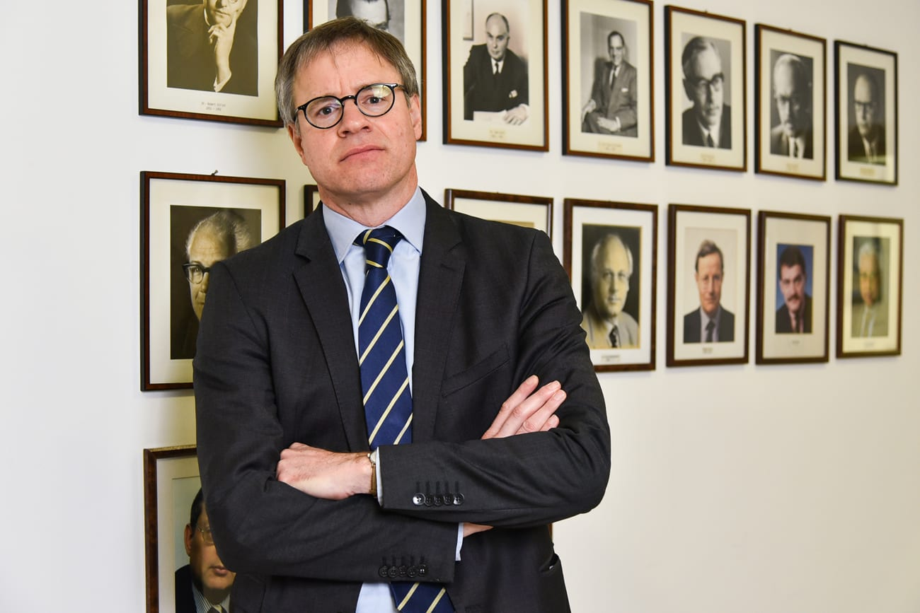 H.E. Axel Dittmann, German Ambassador To Serbia
