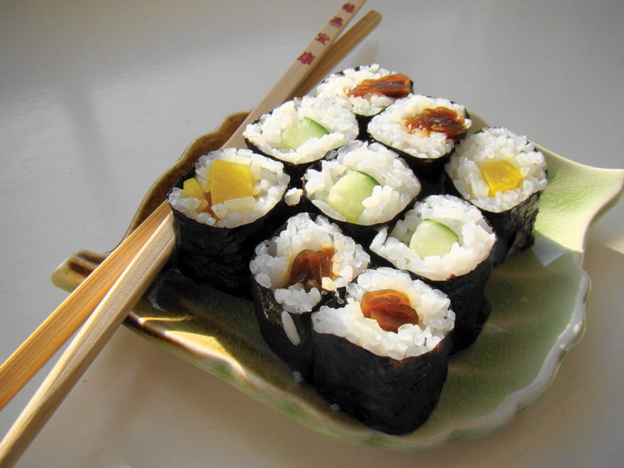 Food Sushi - The World Famous Japanese Food 2017
