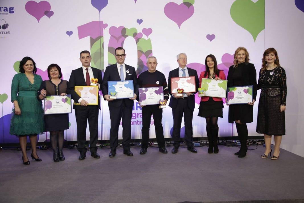 Virtus Award for Philanthropy Presented 2017