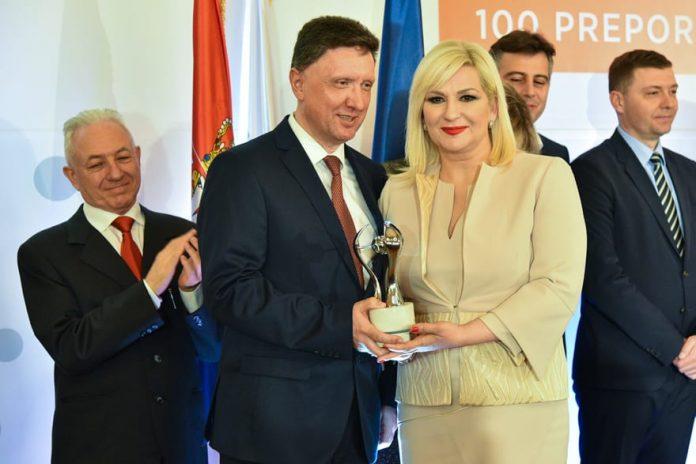 Zorana Mihajlović - Reformer of the Year 2017 Goran Kovacevic