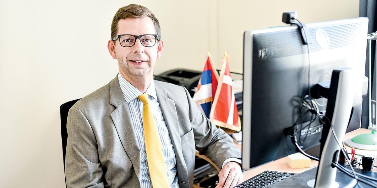 Morten Skovgaard Hansen, Head Of Mission At The Embassy Of Denmark In Belgrade