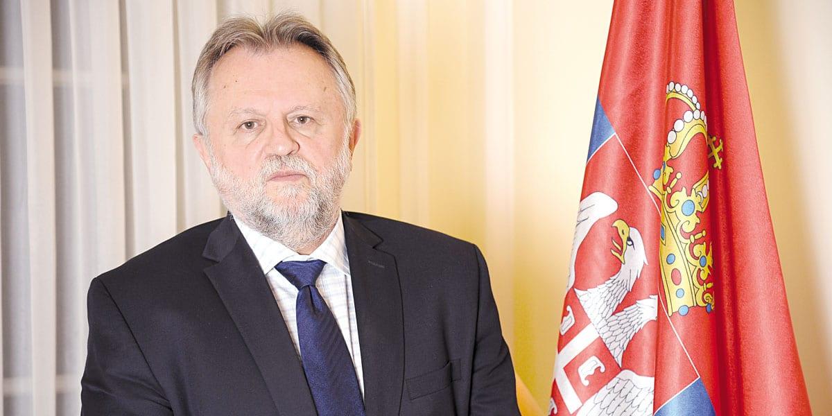 Dušan Vujović Serbian Finance Minister