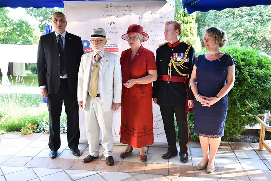Queen Elizabeth's Birthday And 180 Years Of Diplomatic Relations Denis Keefe
