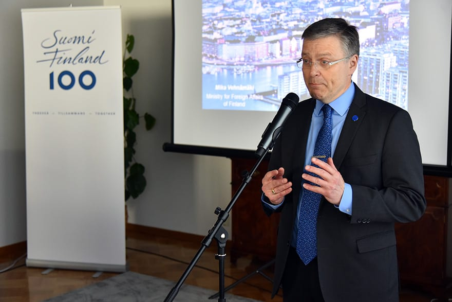 Pertti Ikonen, Serbia-Finland Business Forum