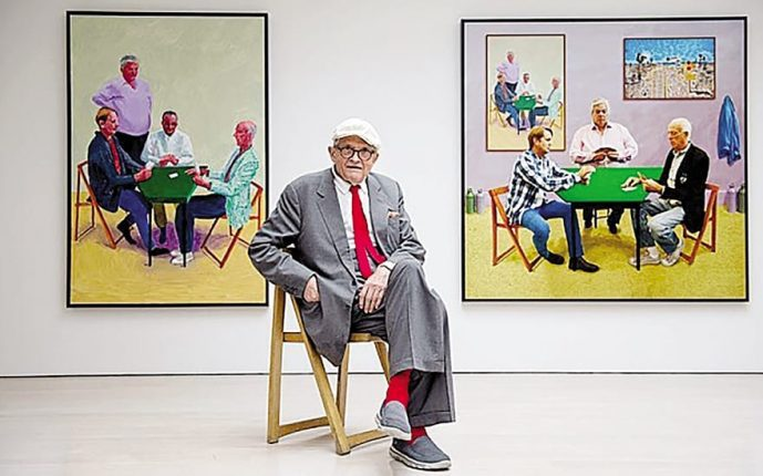 David Hockney The Fastest-Selling Exhibition In Tate History