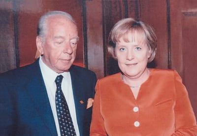 BUDIMIR LONČAR and ANGELA MERKEL