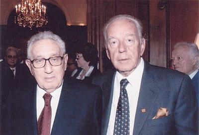 BUDIMIR LONČAR and HENRY KISSINGER