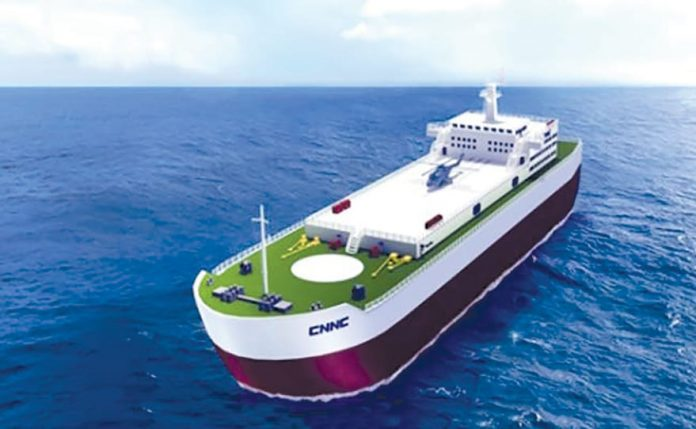 China To Build Floating Nuclear Power Plants