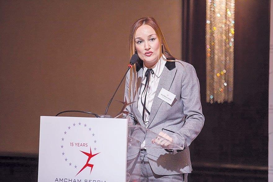Vera Nikolić Dimić, Executive Director Of AmCham
