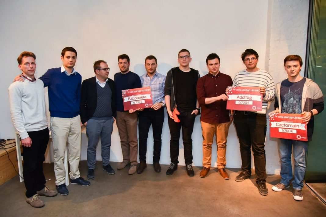 Telekom Serbia Awards Entrepreneurial Teams 2017