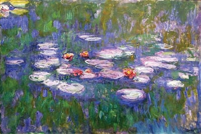 CLAUDE MONET – Water Lilies