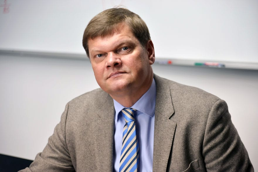 """Arūnas Kundrotas, Team Leader Of """"ENVAP3"""" - Swedish Support Project For The Negotiating Group For Chapter 27, Former Lithuanian Environment Minister"""