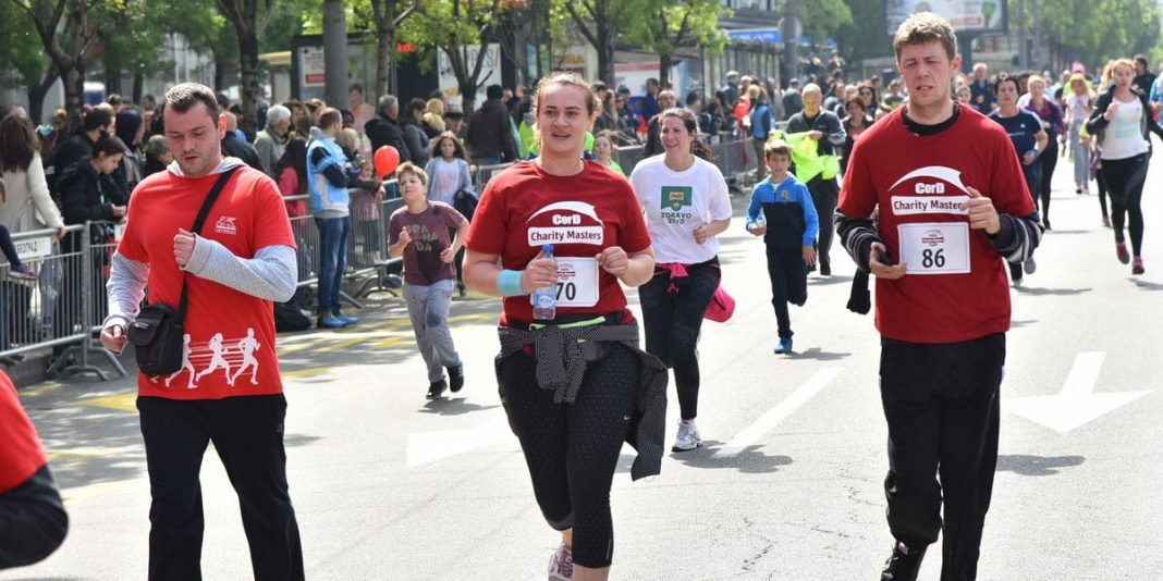 CorD Charity Masters: The Marathon Runners Warm Up Belgrade