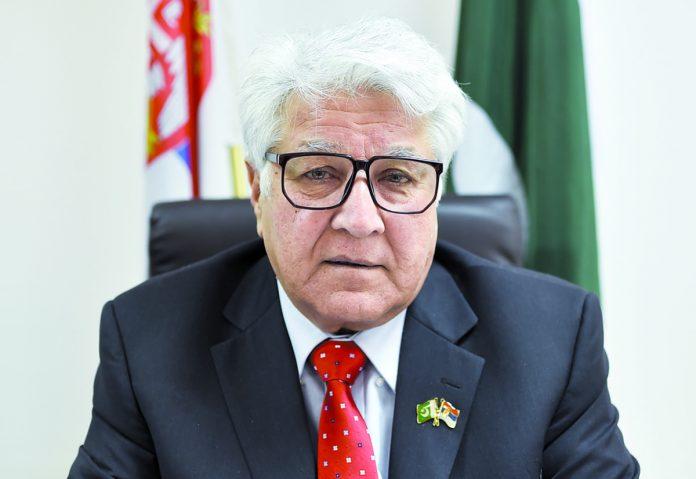 Pakistani Ambassador Syed Adil Gilani