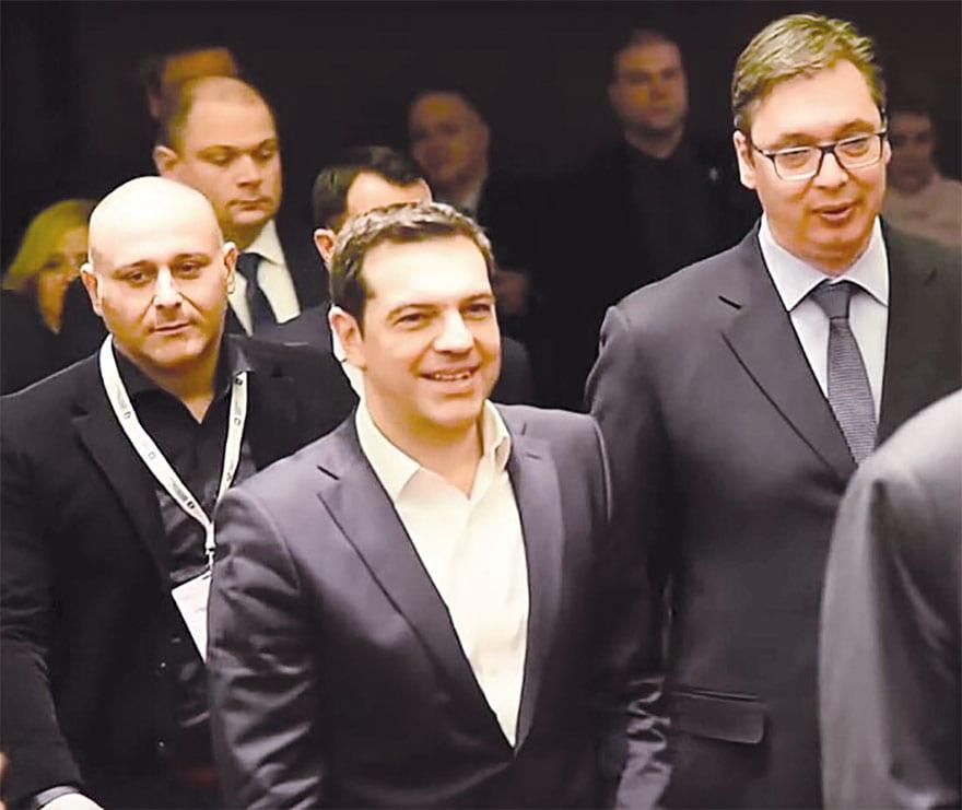Christos Alexopoulos SRBIZA Aleksandar Vucic