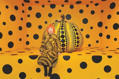 YAYOI KUSAMA SOLD HER WORKS FOR $53.8 MILLION IN 2016