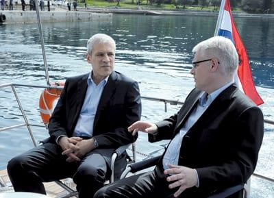 With BORIS TADIĆ, Former Serbian President, Opatija 2010