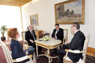 With Serbian Prime Minister ALEKSANDAR VUČIĆ