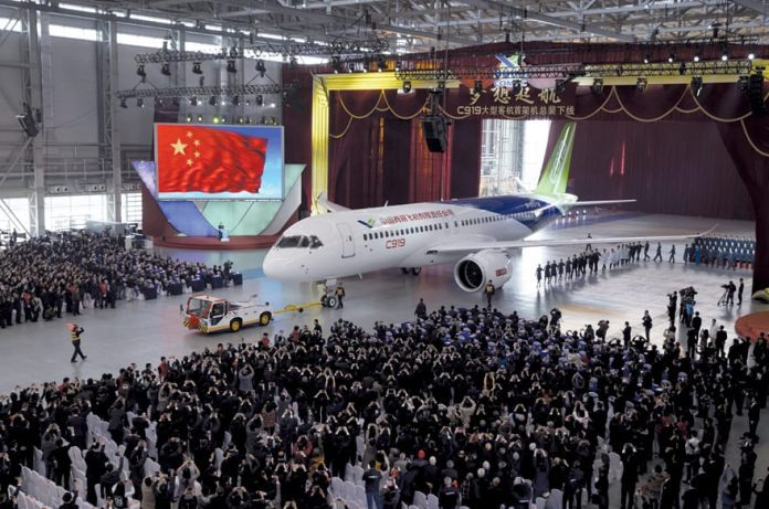 China's First Domestically Built Passenger Plane
