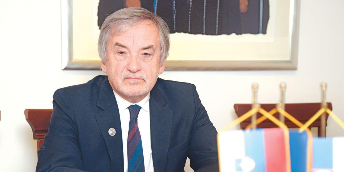 Vladimir Gasparič ambasador Slovenije u Srbiji