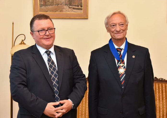 Polish Commander's Cross Order Of Merit Awarded