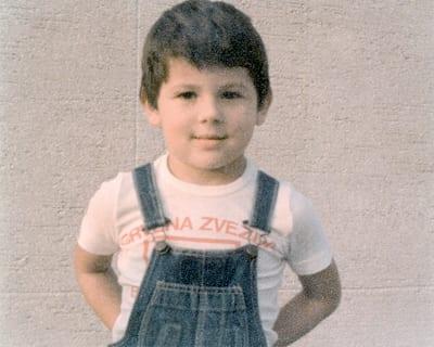 ALEKSANDAR, aged five